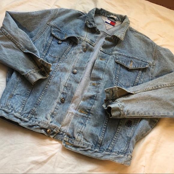 Tommy Jeans For UO Sherpa Lined Denim Trucker Jacket Urban